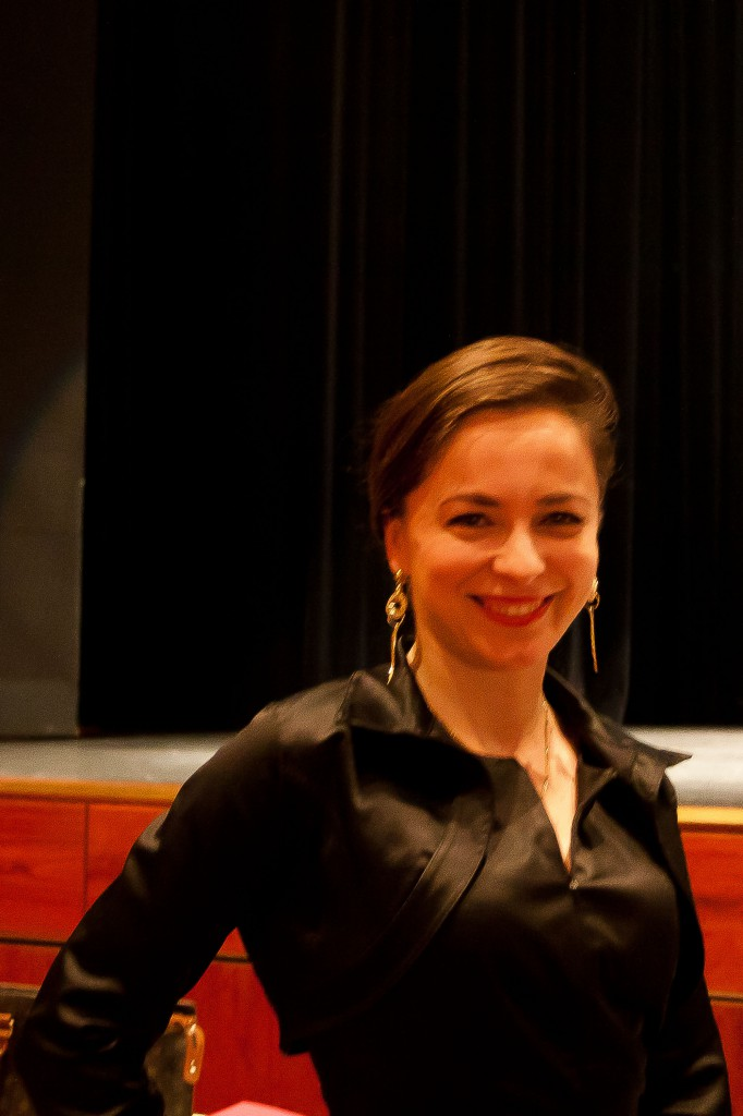 Jury-Mitglied Saida aus Polen.