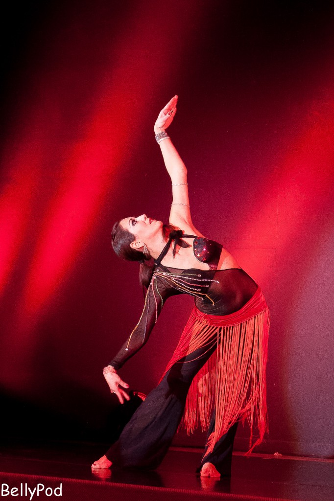 Lorena Galiano beeindruckte mit einem Tango Oriental.