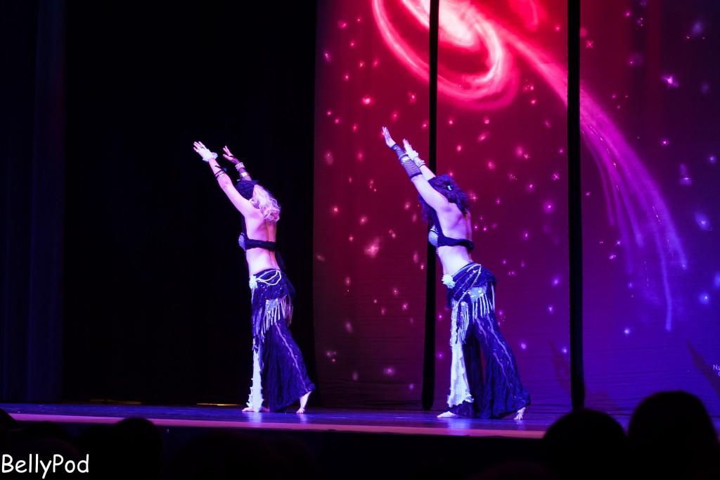 Tribal-Fusion präsentierten Nayla und Sahia nach einer Choreografie von Eliana.