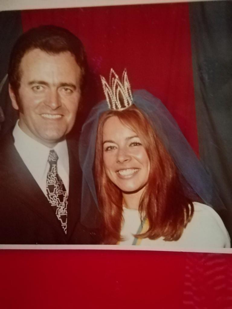 Suleika als Mainfest-Prinzessin mit Max Greger im Jahr 1970