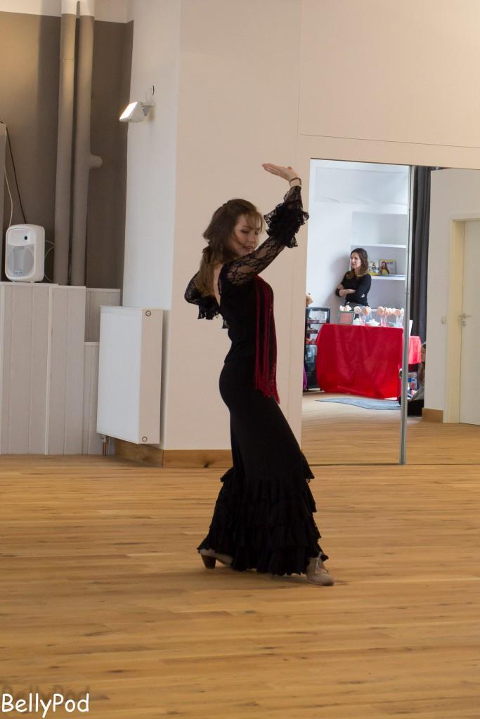 Flamenco gab es von der Ballettschule Frankfurt.